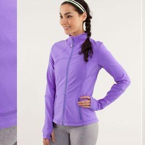 Lululemon Forme Jacket Power Purple